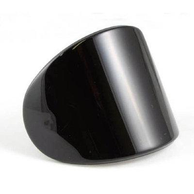 Smoothies Oval Pony Clip-Black 00022