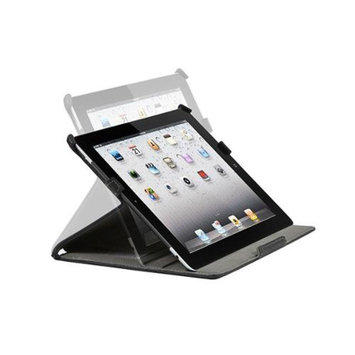 Monoprice Duo Case and Stand with Magnetic Latch for iPad Air™ - Black
