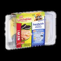 Oscar Mayer Lunchables Sandwich Turkey + American