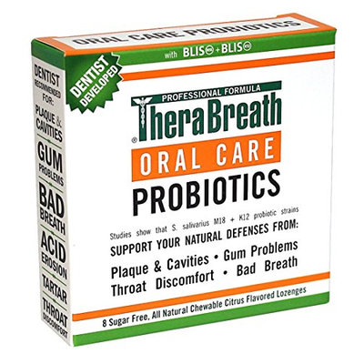 TheraBreath Dentist Recommended Oral Care Probiotics