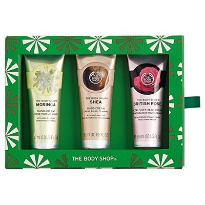 The Body Shop Handfuls of Caring Happiness Trio Hand Cream Gift Set