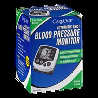 CareOne Automatic Wrist Blood Pressure Monitor