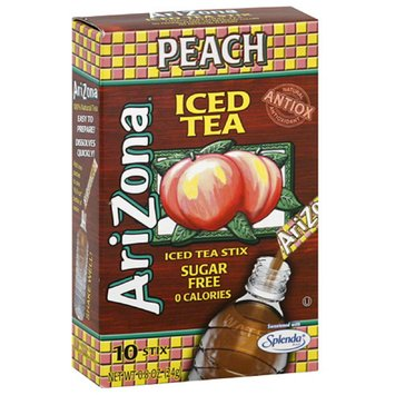 AriZona Sugar Free Peach Iced Tea Stix