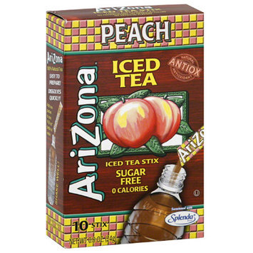 AriZona Sugar Free Peach Iced Tea Stix