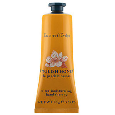 Crabtree & Evelyn Hand Therapy, English Honey and Peach Blossom, 100 g