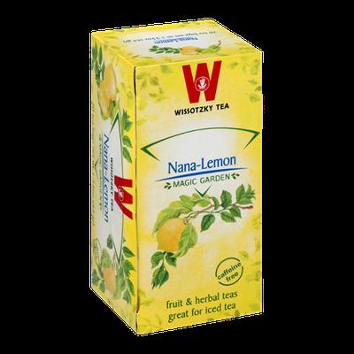 Wissotzky Tea Bags Magic Garden Nana-Lemon - 20 CT