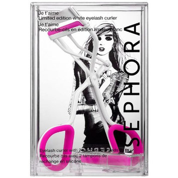 SEPHORA COLLECTION Je T'aime IZAK Limited-Edition White Eyelash Curler