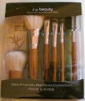 I on Beauty Geo Friendly Bamboo 7 Piece Eyes and Face Brush Set