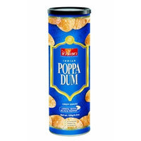 Truly Indian Original Lentil with Black Pepper Poppadums, 4.2-Ounce Cans (Pack of 6)