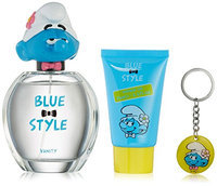 First American Brands The Smurfs Blue Style Vanity Gift Set