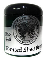 Black Canyon Scented Shea Body Butter 8 Oz (Citrus Basil)