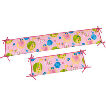 Little Bedding by NoJo Forever Friends Crib Bumper