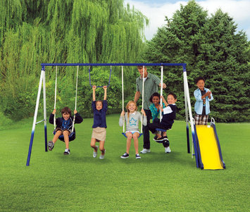 Sportspower Limited Grove Park 4 Leg Metal Swing Set