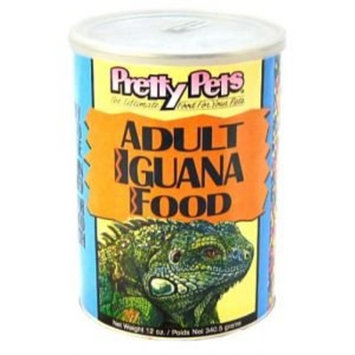 PetProductsPlanet Pretty Bird International Iguana Adult Diet - Large Pellet 4Lb