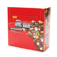 Met-Rx Big 100 Colossal Meal Replacement Bars Rocky Road Cookie Dough