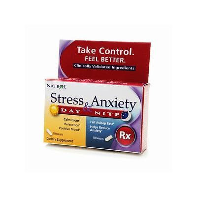 Natrol Stress & Anxiety Day & Nite, Tablets 20 ea