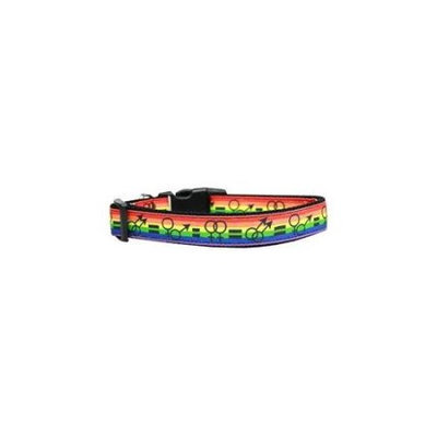 Ahi Equality Nylon Dog Collar Large