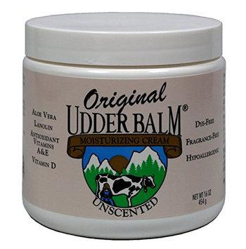 Original Udder Balm Unscented Moisturizing Creme Jar