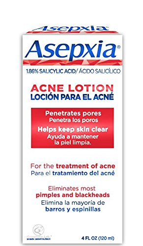 ASEPXIA Acne Astringent Lotion 1.86% Salicylic Acid for Pimples Blackheads Clogged Pores