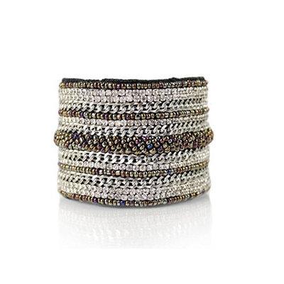 Tassel Jewels Cuff Bracelet Donya