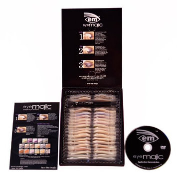 Eye Majic Select 16 Eyeshadow Application Variety Pack