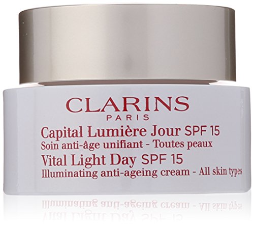 Clarins Vital Light Day SPF 15 Illuminating Anti-Ageing Cream for Unisex