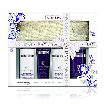 Baylis and Harding Skin Spa Aromatherapy Patchouli and Ylang Ylang Ultimate Bathing Essentials Set