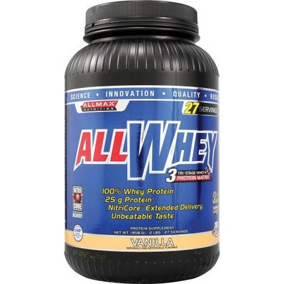 Allmax Nutrition AllWhey Vanilla 2 Lbs