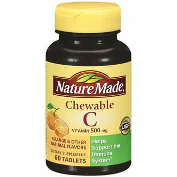 Nature Made Chewable Vitamin C Orange Flavor Tablets