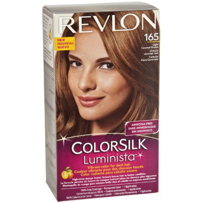Revlon Colorsilk Luminista Light Carmel Brown (165)