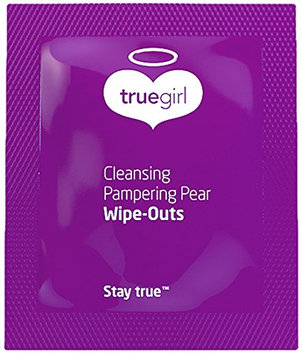 True Girl Skin Care Cleansing Pampering Wipe Outs