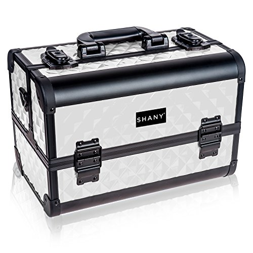 SHANY Premier Fantasy Collection Makeup Artists Cosmetics Train Case - Snow White