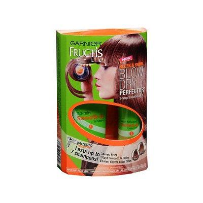 Garnier Fructis Style Sleek & Shine Blow Dry Perfector 2-Step Smoothing Kit