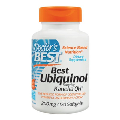 Doctor's Best Ubiquinol featuring Keneka's QH 200mg