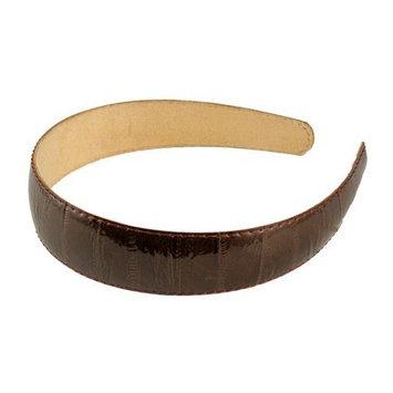 Smoothies Eel Skin Headband-Black 01498