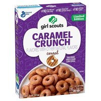 Girl Scouts® Limited Edition Caramel Crunch Cereal