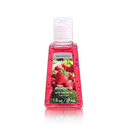 Bath & Body Works® PocketBac Fresh Picked Strawberry Anti Bacterial Hand Gel