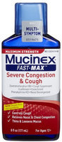 Mucinex Fast-max Maximum Strength Multi Symptom Pain Relief Severe Congestion & Cough 2 PACK OF 9 OZ