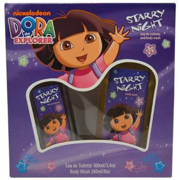 Nickelodeon Dora The Explorer Starry Night Gift Set for Women (Eau de Toilette