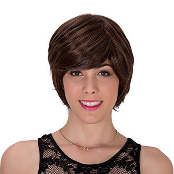 Generic Synthetic Fluffy Straight Hair Replacement Wig