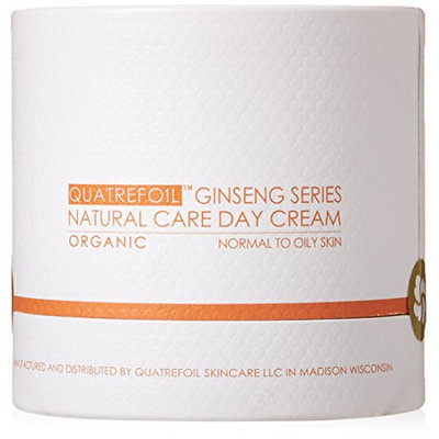 Quatrefoil Ginseng Series Natureal Care Face Day Cream Organic Oily Skin