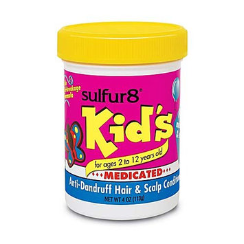 Sulfur8 Kid's Medicated Anti-Dandruff Hair and Scalp Conditioner