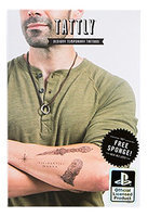 Tattly Temporary Tattoos Uncharted Collection Set