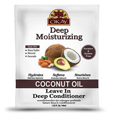 Okay Coconut Oil Deep Moisturizing Leave in Conditioner