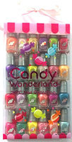 totally Girlz 24-Pack Candy Wonderland Nail Polish Set
