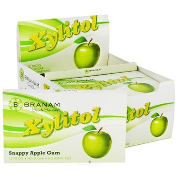 XYLITOL S/F GUM SNAPPY APPLE