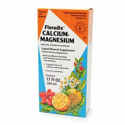 Flora dix Calcium-Magnesium Liquid Mineral Supplement