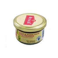 Rougie Duck and Pork Pate with Orange, 2.8 oz