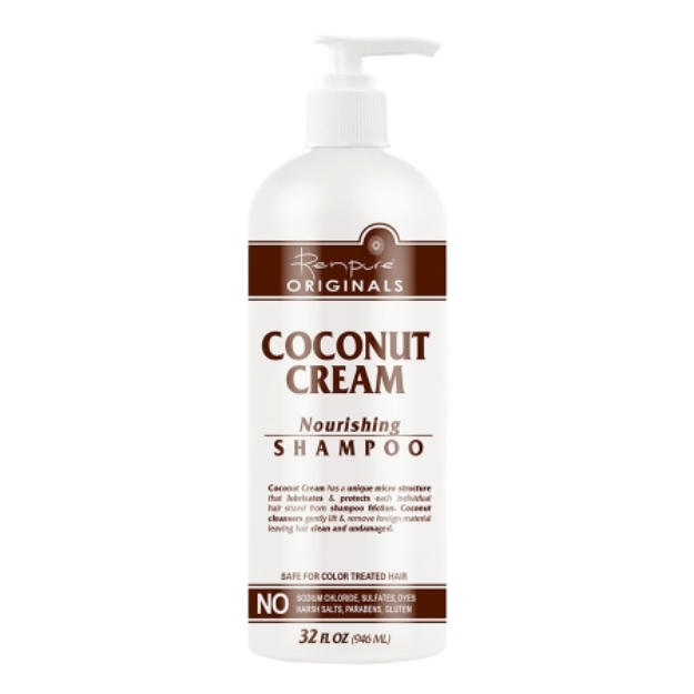 Renpure Originals Coconut Cream Nourishing Shampoo, 32 fl oz