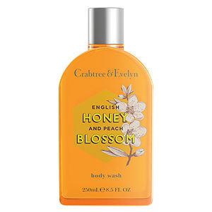 Crabtree & Evelyn - English Honey and Peach Blossom Body Wash 250ml
